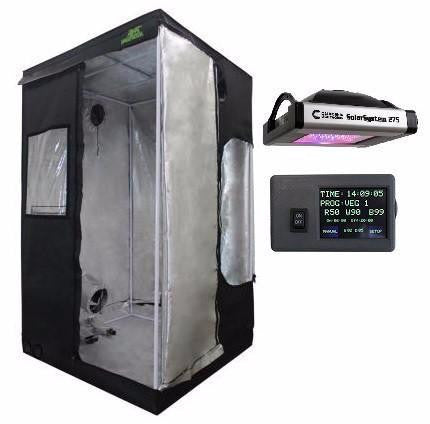 SolarSystem 275 W. Controller and Jungle Room Grow Tent Package deal.