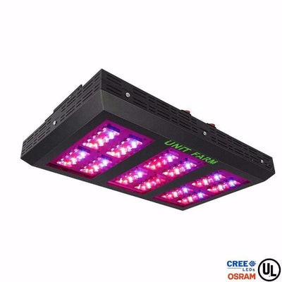 Unit Farm UFO-120 Cree Osram Diode Led Grow Light / 260W Draw