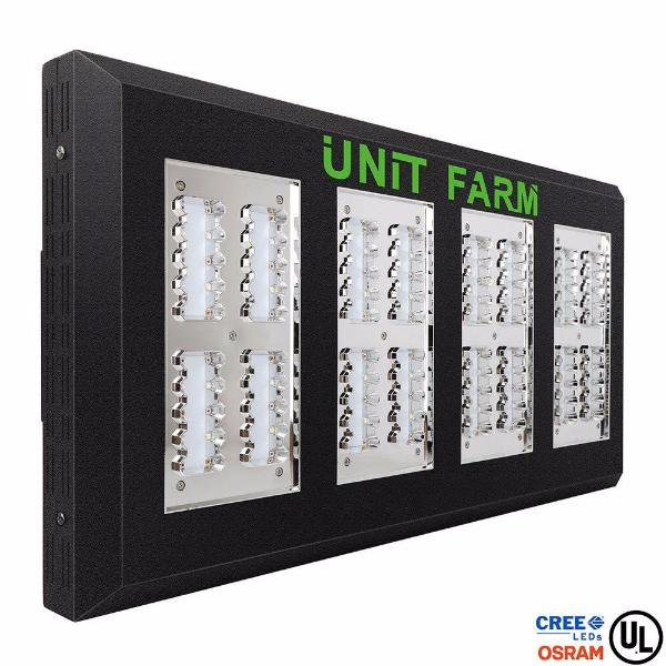 Unit Farm Ufo 160 Cree Osram Led Grow Light Drawing 350w