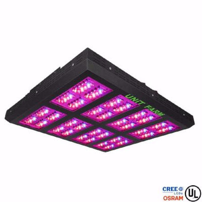 Unit Farm UFO-320 Cree Osram LED Diodes Grow Light / Drawing 710 Watt