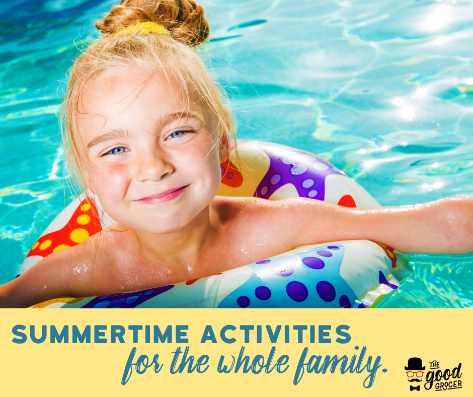 Summertime Activities for the Whole Family
