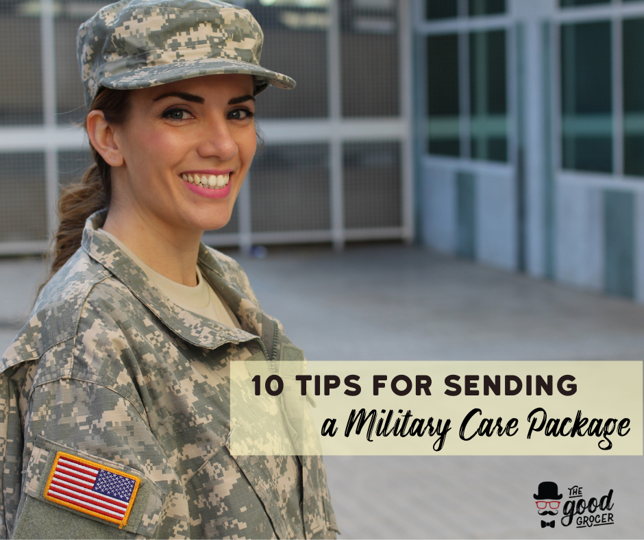 How to Send a Military Care Package