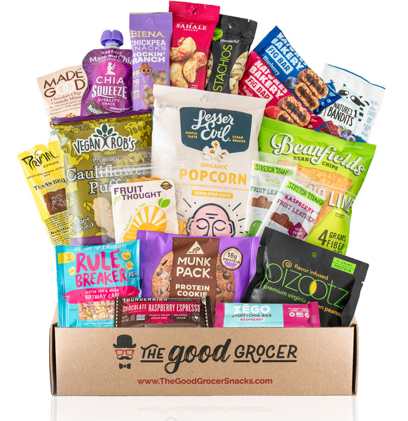 Premium Vegan Snacks (20 count)
