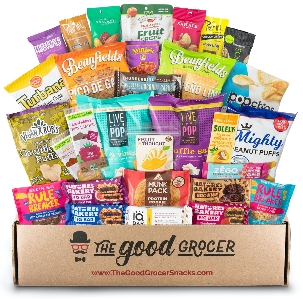 Deluxe Vegan Snacks (30 ct)