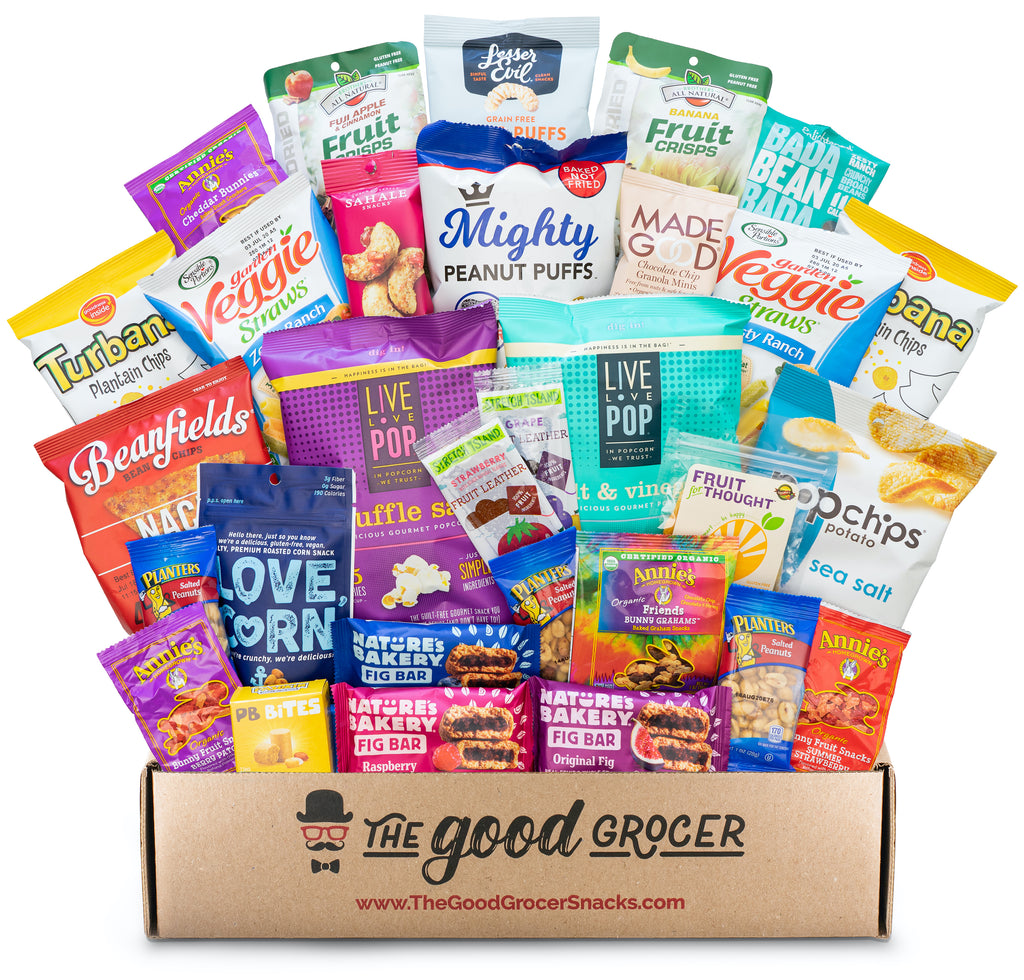 All Natural Snacks Care Package (30ct)