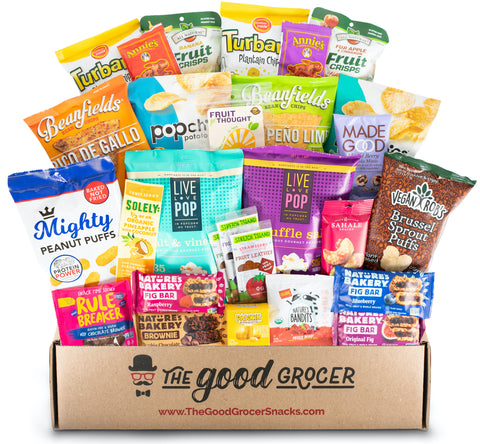 Non-GMO Vegan Snacks Care Package (28 ct)