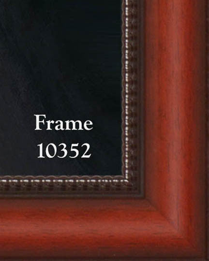 Faustina on Canvas - Frame 10352