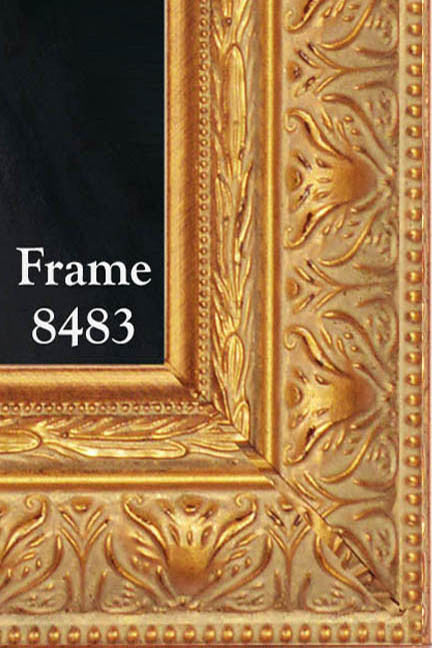 Skemp Divine Mercy on Canvas - Frame 8483
