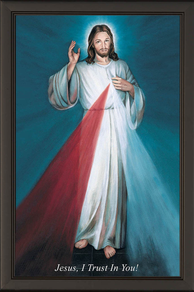 Hyla Divine Mercy on Canvas - Frame 6711