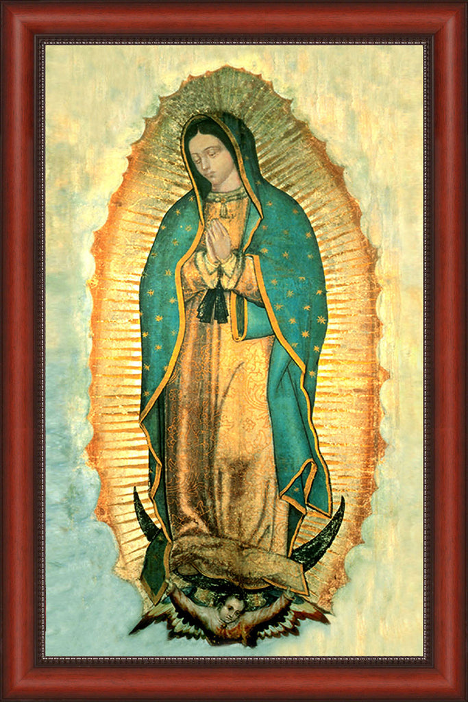 Our Lady of Guadalupe on Canvas - Frame 10352