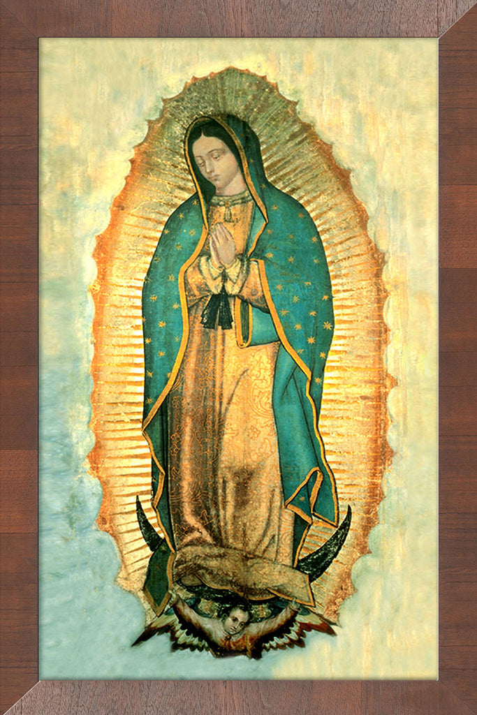 Our Lady of Guadalupe on Canvas - Frame 10458