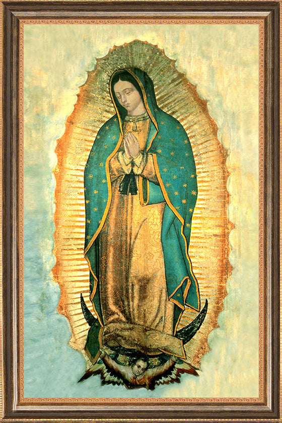Our Lady of Guadalupe on Canvas - Frame 10491
