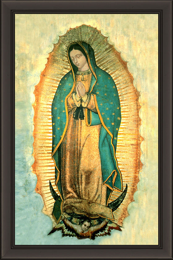 Our Lady of Guadalupe on Canvas - Frame 6711