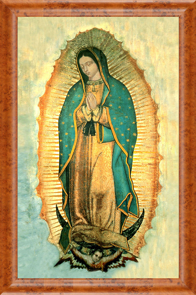 Our Lady of Guadalupe on Canvas - Frame 8714
