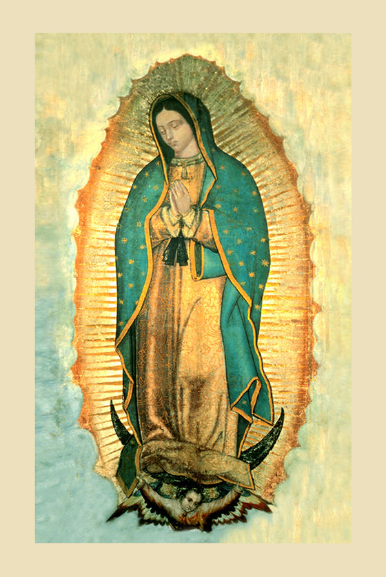 Our Lady of Guadalupe on Canvas - Unframed