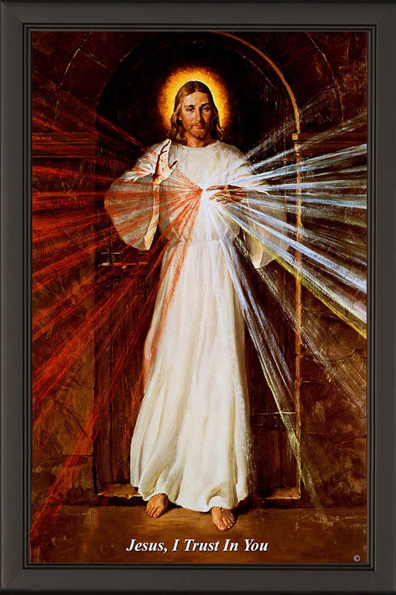 Skemp Divine Mercy on Canvas - Frame 6711
