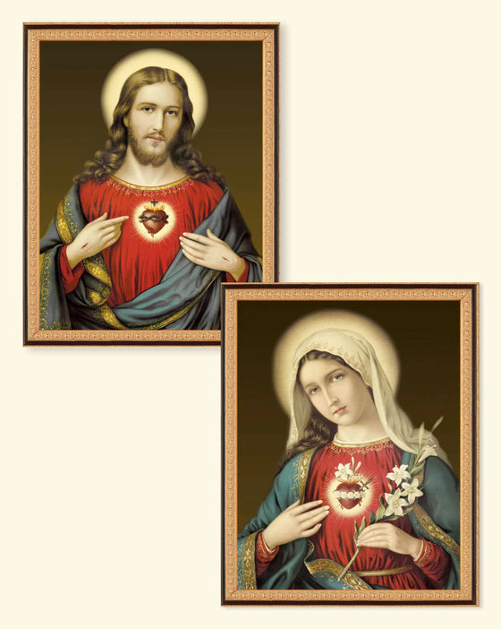 Special Gift Sale: Sacred & Immaculate Hearts Set