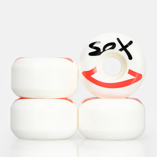 SEX SKATEBOARDS WHEELS 53MM  | WHITE
