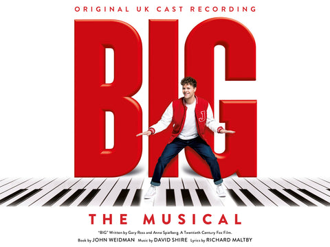 Official Cast Recording CD (2016 production)