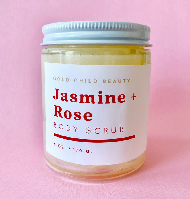 Jasmine + Rose Sugar Scrub