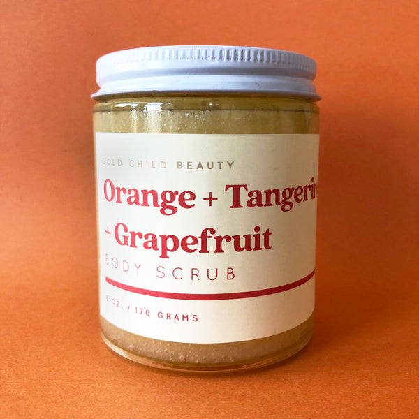 Orange + Tangerine + Grapefruit Sugar Scrub