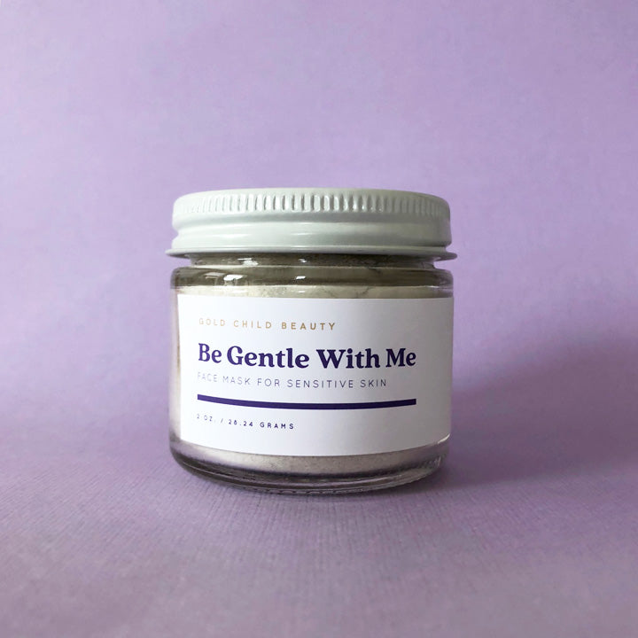 Be Gentle With Me: Sensitive Skin Face Mask