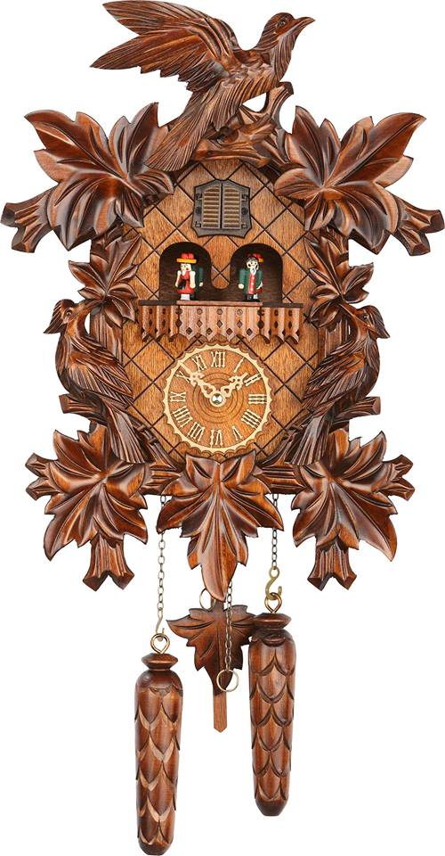 Forest Cuckoo Clock with DANCERS (no. 369QMT)