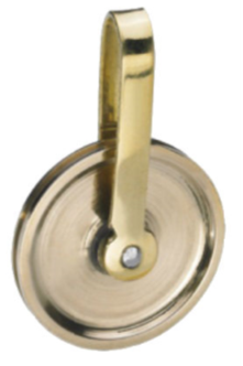 Grandfather Brass Pulley