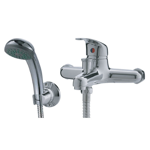 Macneil - Amber - Bath Mixer with Hand Shower - SKU 209886