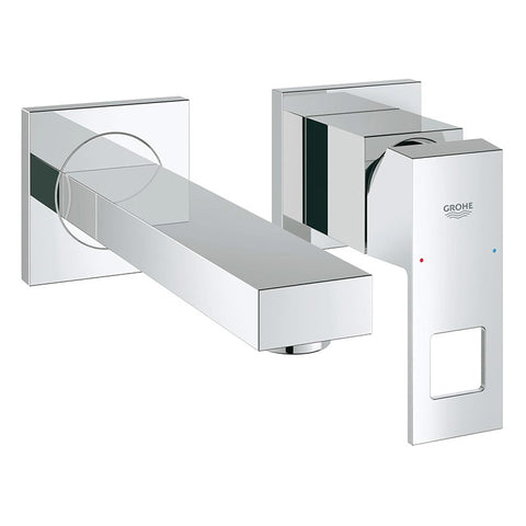 GROHE - Eurocube - Wall-mounted bathroom faucet - SKU 19895000