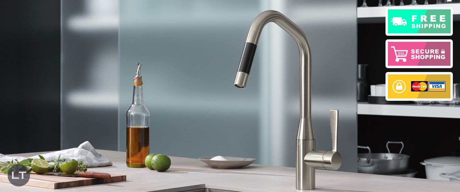 View our Kitchen Sink Tap Collection