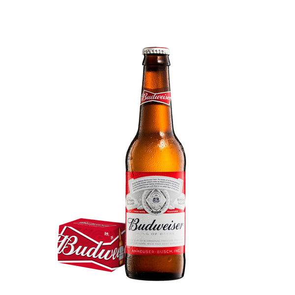 Budweiser (24 x 340ml Multipack)