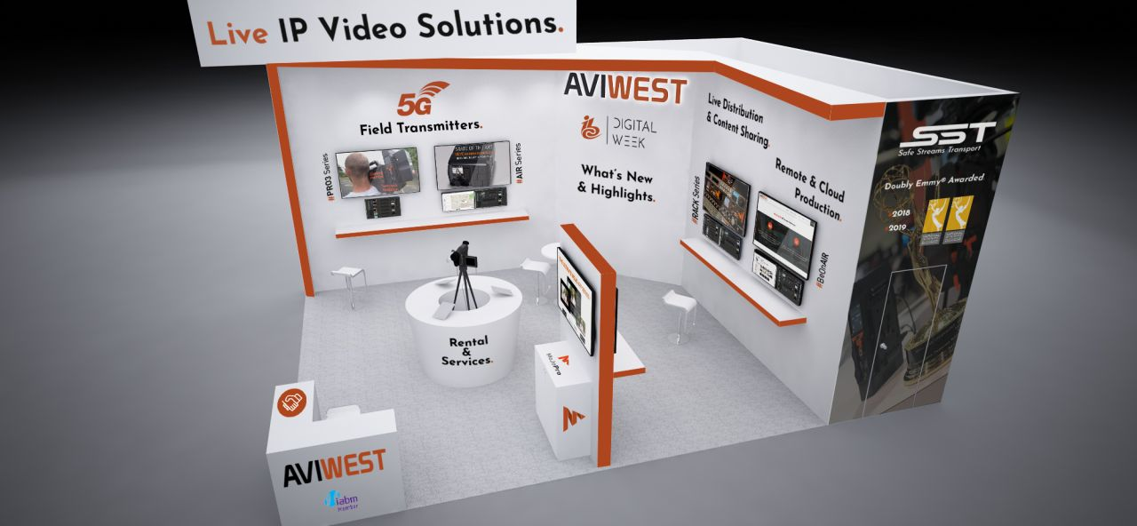 Aviwest IBC Digital Week