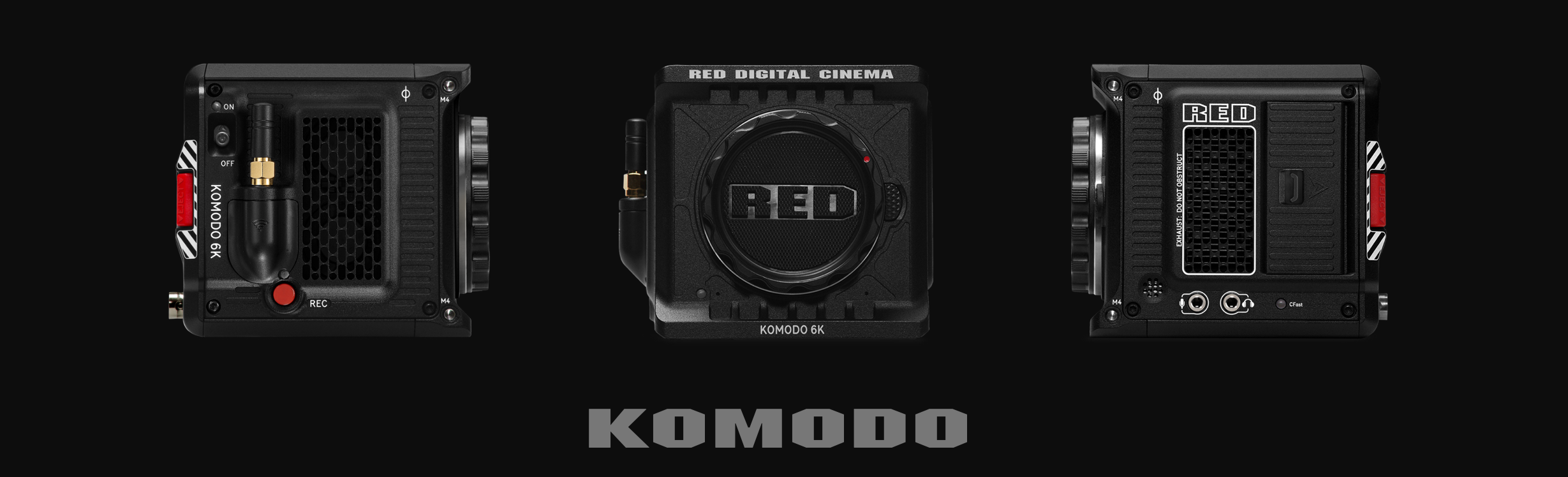Camera cinema RED KOMODO
