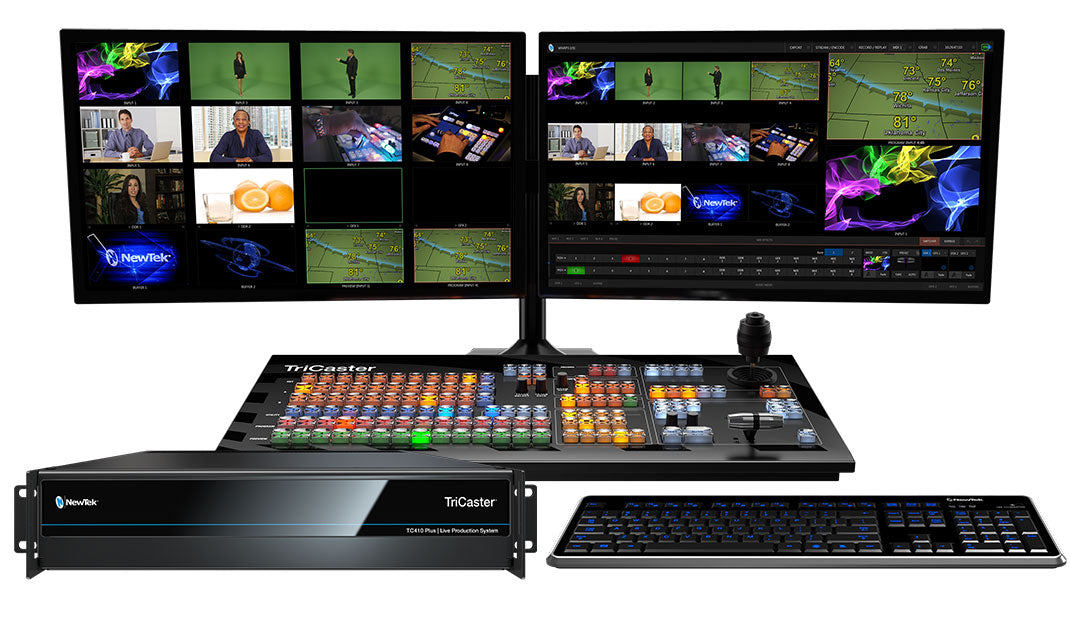 NewTek TriCaster TC410 Plus configuration