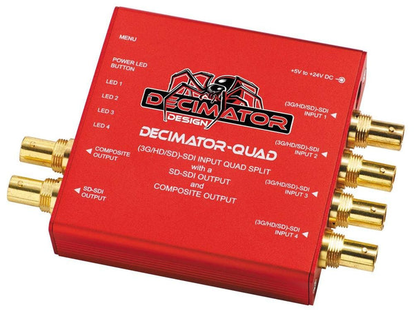 Multi-Viewer cu 4 canale Decimator-QUAD