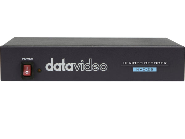 Decodor video IP DataVideo NVD-25