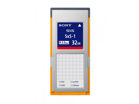 Card memorie Sony SxS-1 32GB