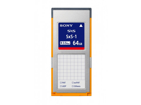 Card memorie Sony SxS-1 64GB