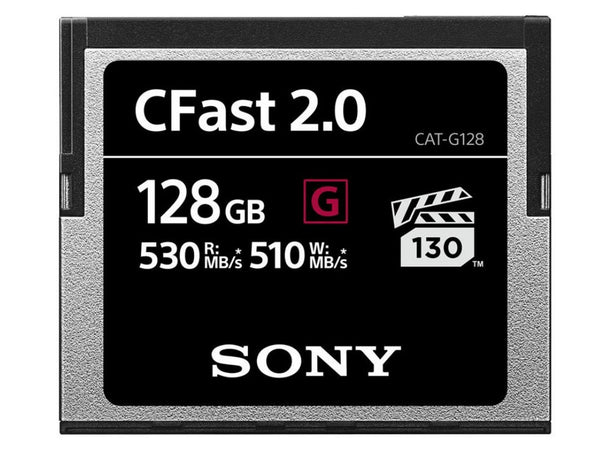 Card memorie Sony CFast 2.0 128GB