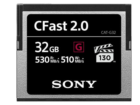 Card memorie Sony CFast 2.0 32GB