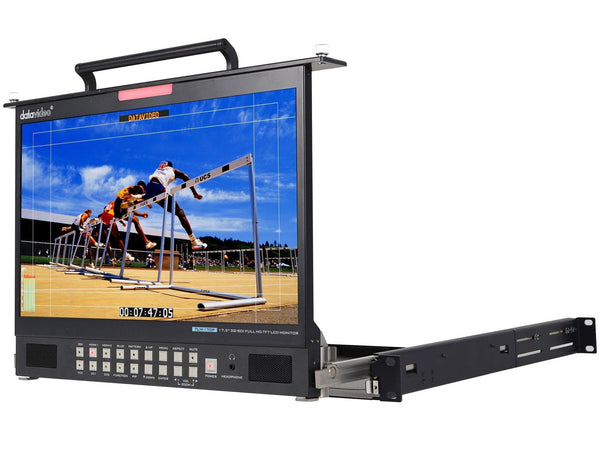 Monitor LCD 17.3 inci HD/SD 1RU DataVideo TLM-170PM