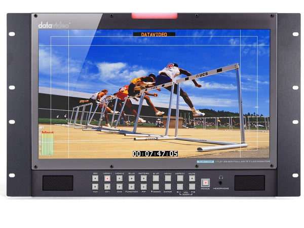 Monitor LCD 17.3 inci HD/SD 7RU DataVideo TLM-170PR