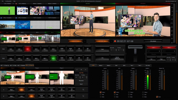 Studio virtual HDMI DataVideo TVS-1000A