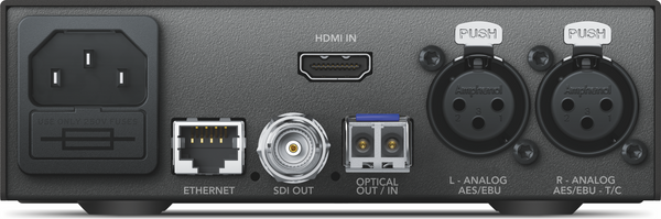 Blackmagic Teranex Mini - HDMI la 12G optic
