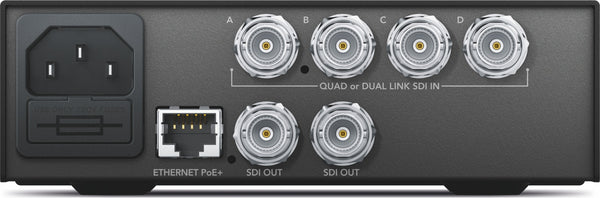 Blackmagic Teranex Mini - QUAD SDI la 12G-SDI