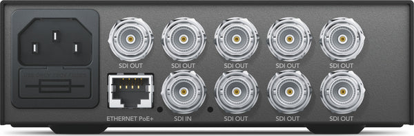 Blackmagic Teranex Mini - distributie SDI 12G
