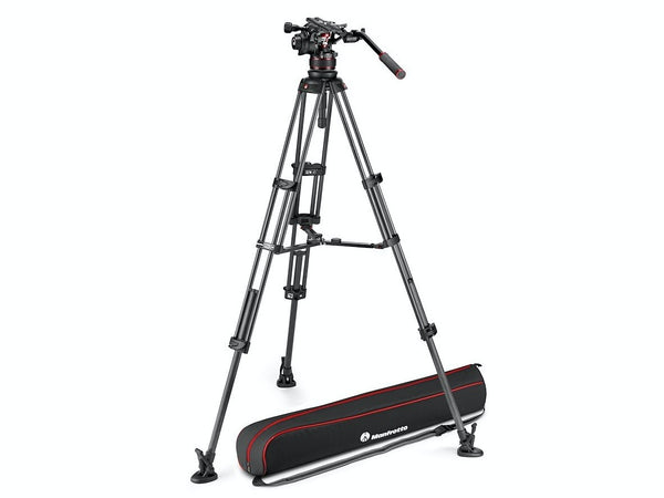 Manfrotto NITROTECH 612 & trepied din fibra de carbon