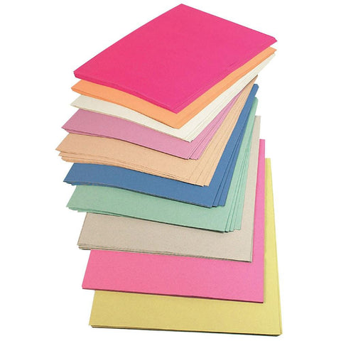 Sugar Paper - A2 Assorted Colours Pack of 250