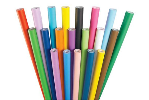 Fadeless Paper Roll Assorted Colours Set of 12